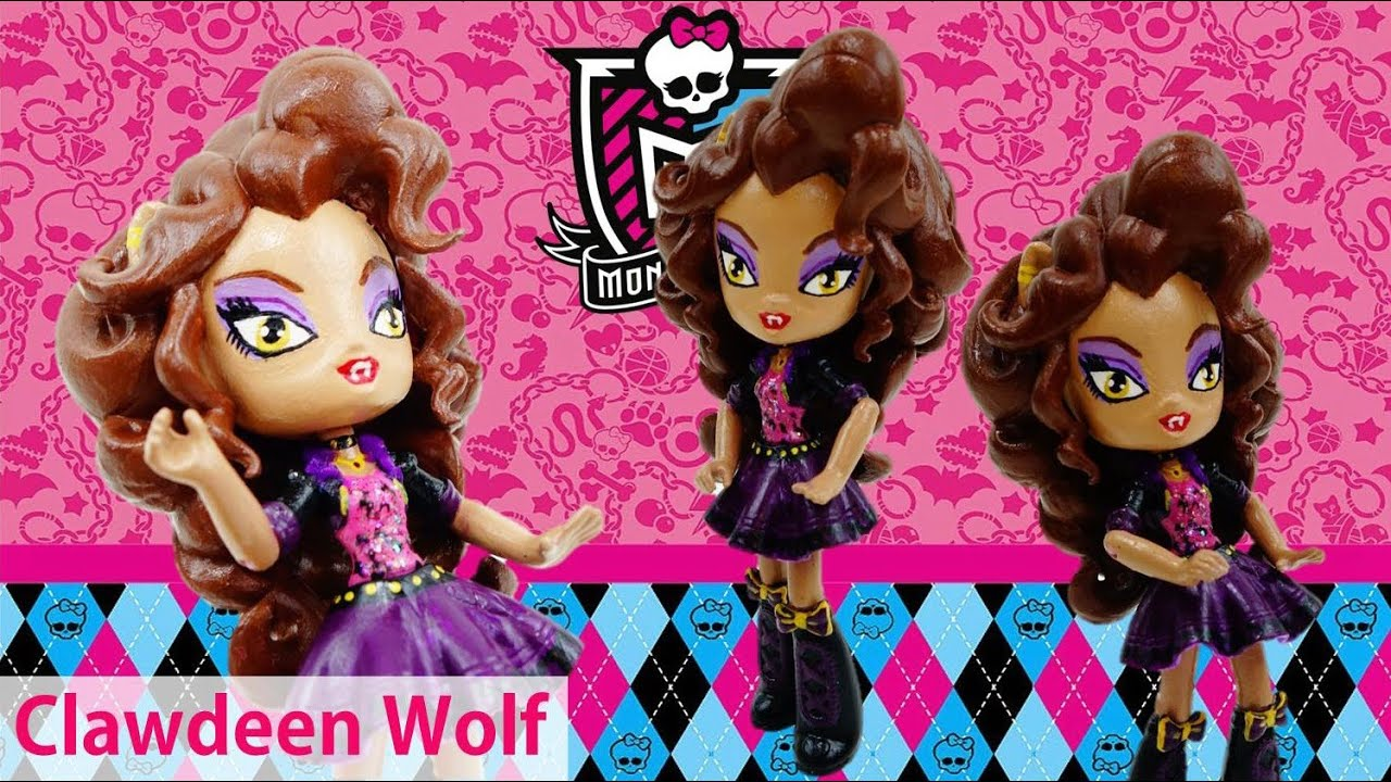 New Custom Monster High Clawdeen Wolf Doll from MLP Equestria Girl Tutorial | Evies Toy House
