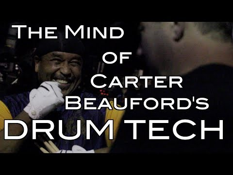 Inside the Mind of Carter Beauford's Drum Tech