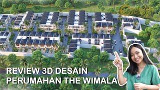 Video Desain Perumahan Villa Bali The Wimala by Gemintang Land di  Tangerang Selatan, Banten