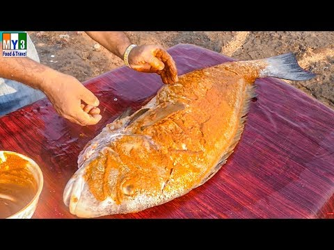 #FULL FISH FRY MAKING | DELICIOUS FISH RECIPES street food