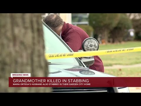 Grandmother killed in stabbing at Garden City home