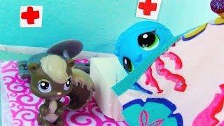 Hospital Patient - Mommies Part 22 Littlest Pet Shop Series Movie LPS Mom Babies