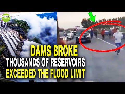 Central China: Millions of Villagers Abandon Homes! 3 Dams Collapsed In 48 Hours! Why Severe Floods? - China Insights Must Video