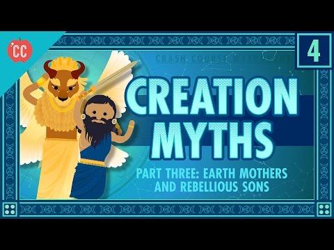 Matky země a neposlušní synové - Světová mytologie