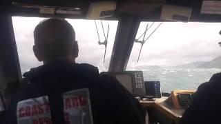preview picture of video 'CRV Interisland Rescue coming home'