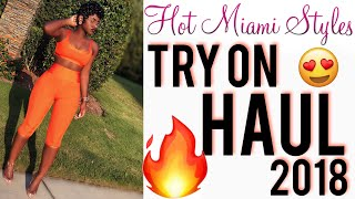 HOT MIAMI STYLES HAUL 2018 | END OF SUMMER TRY ON | iDESIGN8