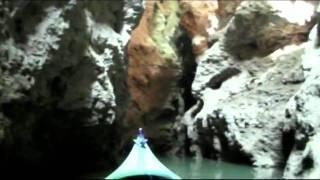 preview picture of video 'Lago di Santa Giustina in canoa & Canyon Rio Novella'