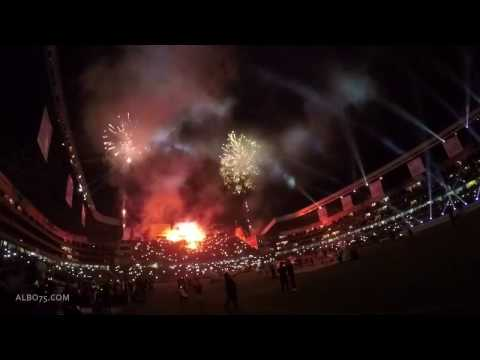 """Liga Deportiva Universitaria, Noche Blanca 2017 (mix de barras)"" Barra: Muerte Blanca • Club: LDU"