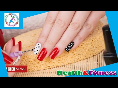 Gel and acrylic nails allergy warning