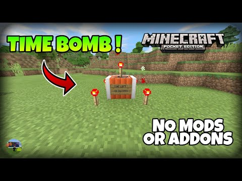 MCPE]HOW TO MAKE A TIME BOMB!!! (Command Block Creation