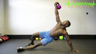 LiveWire 30 Day Challenge. Part 2: Full Body Kettlebell Workout. by LiveWire Super Tea
