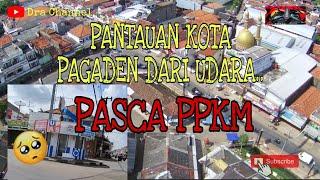 SITUASI PPKM DI PAGADEN PLAZA SUBANG #ppkm #pagaden #subang with drone mjx bugs 12eis