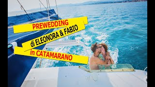 Prewedding in Catamarano, punta Bianca