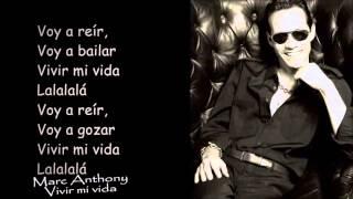 Mark Antony - Vivir mi vida