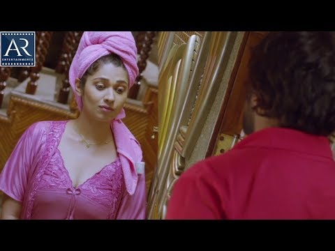 Lover Boy Clever Ammai Movie Scenes | Pizza Delivery Boy with House Owner | AR Entertainments