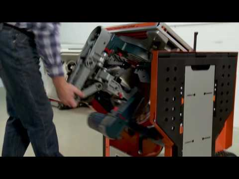 Portamate PM-8000 Portacube STR Miter Saw Workstation