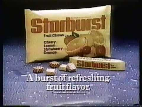 Starburst Commercial (1983) (Television Commercial)