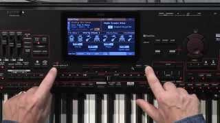 Korg Pa4X 76 - Video