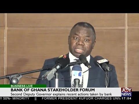 Bank of Ghana Stakeholder Forum - Business Live on JoyNews (24-4-18)