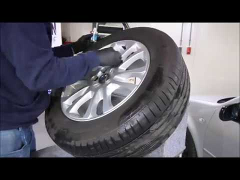 Waxim Car cleaning & Detailing - Volvo Xc60 wheels protect by Gyeon Q2 Rim