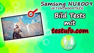Bild Tests Samsung NU8009 75 Zoll mit Testufo.com   Ruckler, Hz, chase, scroll, motion & ghost  