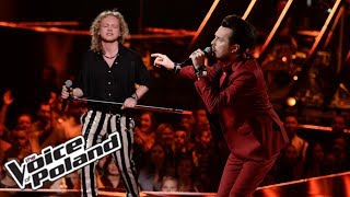 "Maksymilian Kwapień & Piotr Cugowski - ""Whole Lotta Love"" - Live 3 - The Voice of Poland 9"