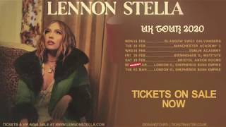 LENNON STELLA UK TOUR 2020