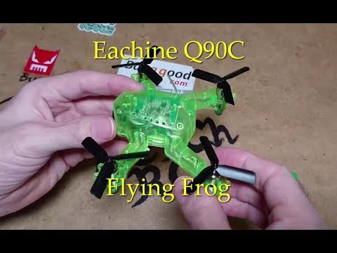 Eachine Q90C Flying Frog Review Flight Test And Freerider Setup