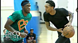 Pascal Siakam, Lou Williams + MORE at Rico Hines Private Run