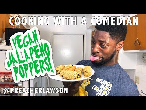 Vegan Jalapeno Poppers - Cooking With A Comedian