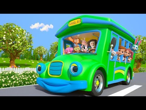 Wheels On The Bus | Nursery Rhymes & Kids Songs by Little Treehouse