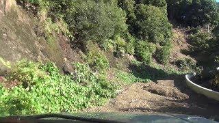 大鎌椎平林道 パジェロミニ車載動画
