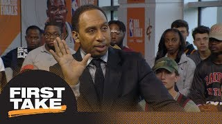 Stephen A. Smith: Cavaliers need to bench JR Smith to win Game 3 vs. Warriors | First Take | ESPN