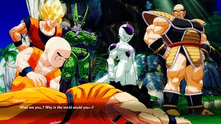 Goku, Frieza And Cell Roast Yamcha For Being Weak | Dragon Ball FighterZ