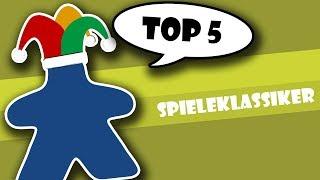 Top 5 Spieleklassiker