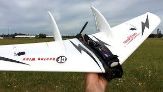 LOS Maiden Flight - Sonic Modell Carbon Fiber Racing Wing - 1030mm FPV Wing