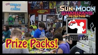 Bell's Guardians Rising Prerelease Prize Packs! by Master Jigglypuff and Friends
