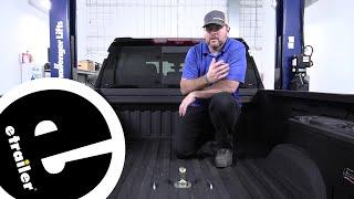 B and W Turnoverball Underbed Gooseneck Trailer Hitch Installation - 2020 Chevrolet Silverado 2500