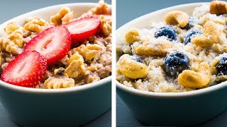 3 Healthy Oatmeal Recipes For Weight Loss
