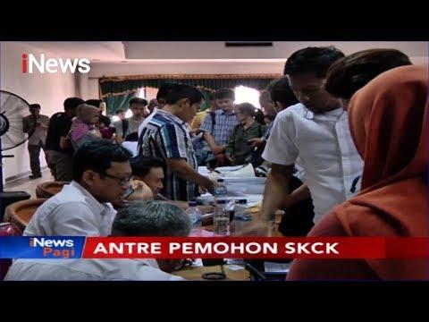 Pendaftaran CPNS Dibuka, Warga Berbondong-bondong Bikin SKCK di Polres Jaktim - iNews Pagi 12/11