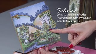 EZ Technique to Create a Nature Scene with Foldout Cards