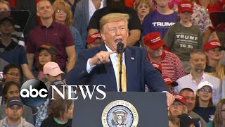 Trump sounds off on impeachment investigation at rally in Louisiana   ABC News