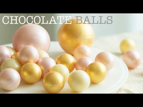 넘나예쁜 초콜릿 볼 2가지 방법 (진짜 쉬운 초콜릿 템퍼링)/Chocolate Balls(Easy Chocolate tempering method)