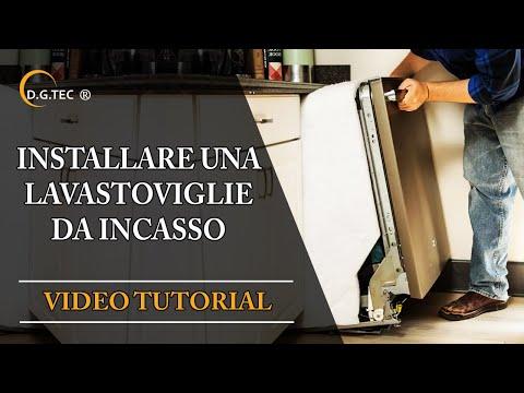 Come installare una lavastoviglie da incasso Rex Electrolux Aeg