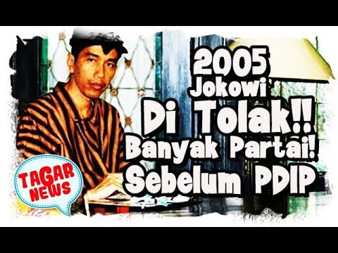 2005, Cerita Jokowi Ditolak Banyak Partai Sebelum Maju Lewat PDIP