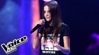 """Marcelina Szlachcic – """"Kaktus"""" – Przesłuchania W Ciemno – The Voice Kids Poland"""