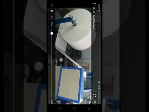 Semi Automatic Bandsaw Tissue Paper Machine
