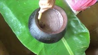 Healthy Village Food ❤ Finger Millet Porridge Prepared In My Village By My Mom