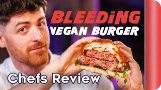"Chefs Review The ""Flexitarian"" B12 Vegan Burger"