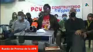 Rueda de Prensa de la Alternativa Popular Revolucionaria